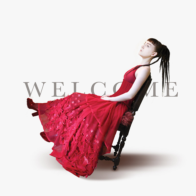 BRUCH Welcome folk electronica out now itunes amazon music google play spotify deezer red dress singer artist recording uk unsigned bbc introducing