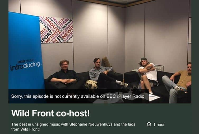 BBC Introducing Live Lounge Radio Solent Music BRUCH alternative Tortoise Skin CROWN Hampshire Isle of Wight Dorset London Brighton